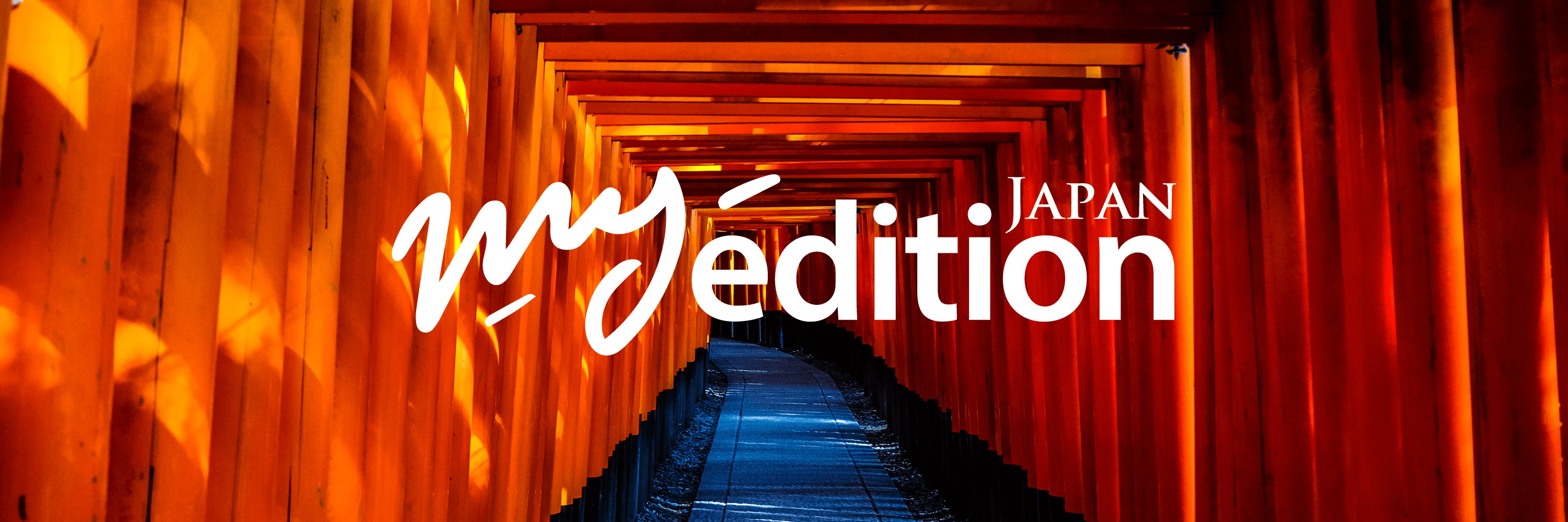 MyEdition JAPAN Orange gates at Fushimiinaritaisha in Kyoto